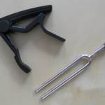 capo and tuning fork